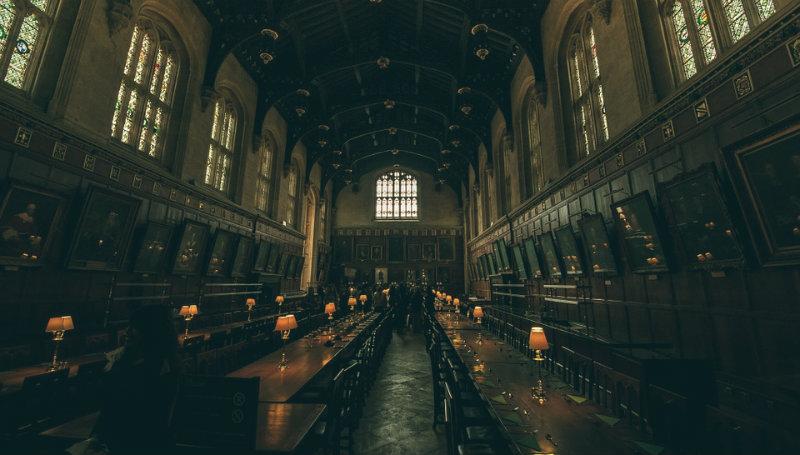 grande biblioteca - salão comunal de Hogwarts